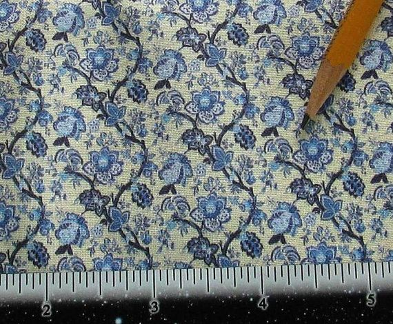 Dollhouse Miniature Victorian UPHOLSTERY FABRIC by SydneyStyle