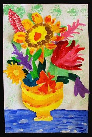 still life - 3rd: Art Museum, Art Lessons, Vans Gogh, Still Life, Paper Flowers, Life 3Rd, Art Ideas, Hogan27 S Art On Artsonia, Art Projects