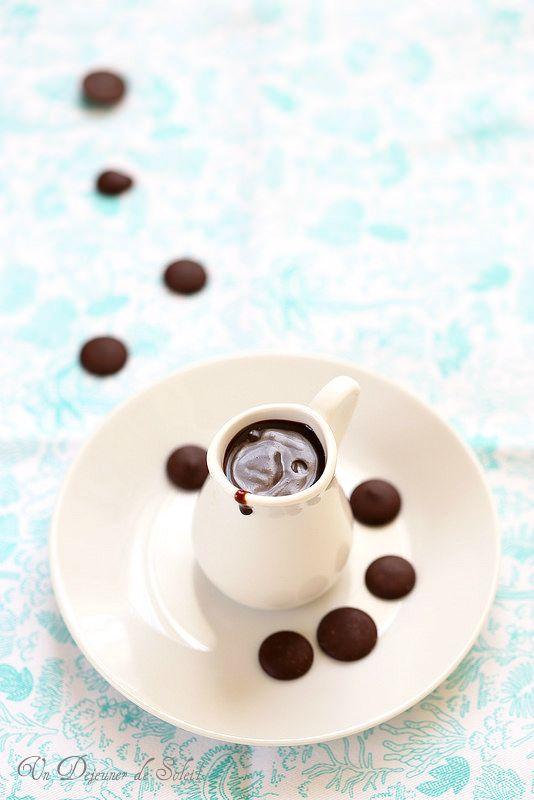 Un dejeuner de soleil: Sauce au chocolat à l'eau (pour glaces, gâteaux......