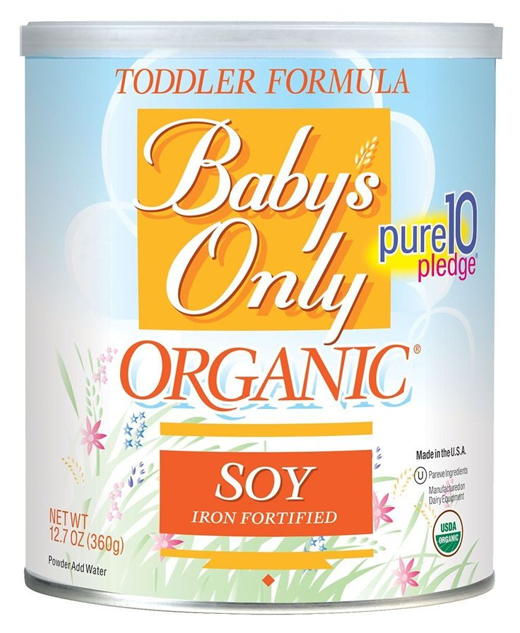 Ask your Dr if Baby's only might be a good over the age of one option. :) organic, non GMO. Best Vegetarian & Vegan Baby Formula Brand