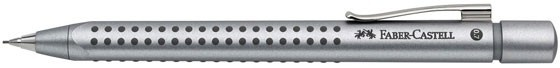 Silver Faber - Castell GRIP 2011 Mechanical Pencil