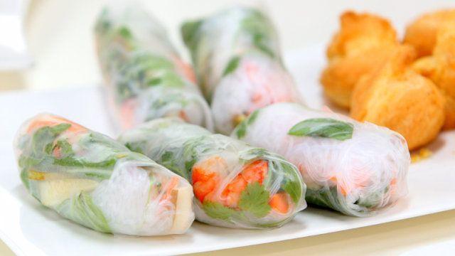 Spring Rolls - przepis   Gotuj z pasją z Kulinarnymi!