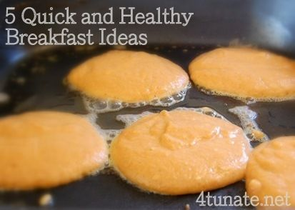 5 Quick and Healthy Breakfast Ideas for Back to School | 4tunate