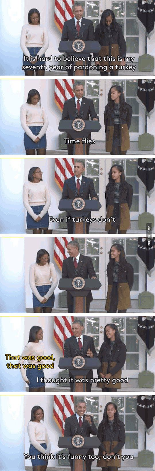 Obama's the best  dad jokes lol