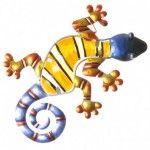 Décoration murale - Gecko orange