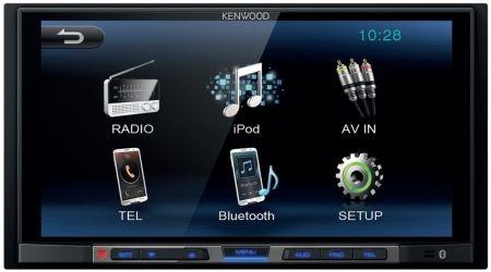 Kenwood DMX-100BT i gruppen Billjud / Bilstereo / Dubbeldin hos BRL.se  (121DMX100BT)