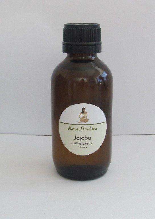 Natural Goddess - Jojoba Certified Organic Oil