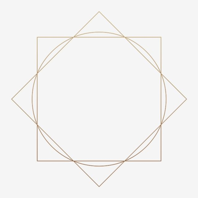 Beautiful Gold Style Geometric Frame For Wedding Decoration Geometric Frame Gold Png Transparent Clipart Image And Psd File For Free Download Frame Border Design Geometric Beautiful Graphic