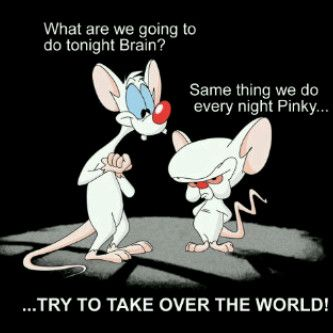 pinky and brain | Tumblr