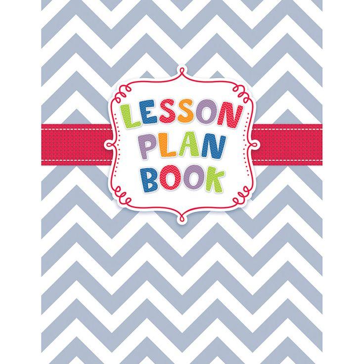 CHEVRON LESSON PLAN BOOK