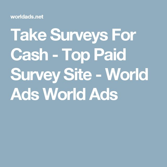 Paid survey sites, Take surveys and Survey sites on Pinterest