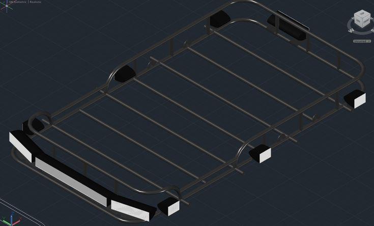 DIY roof racks | IH8MUD Forum