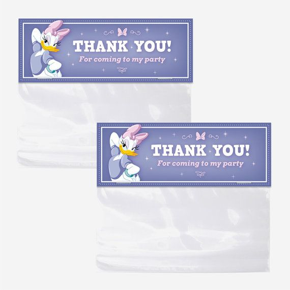 Hey, I found this really awesome Etsy listing at https://www.etsy.com/listing/242935814/daisy-duck-bag-toppers-printable-favor