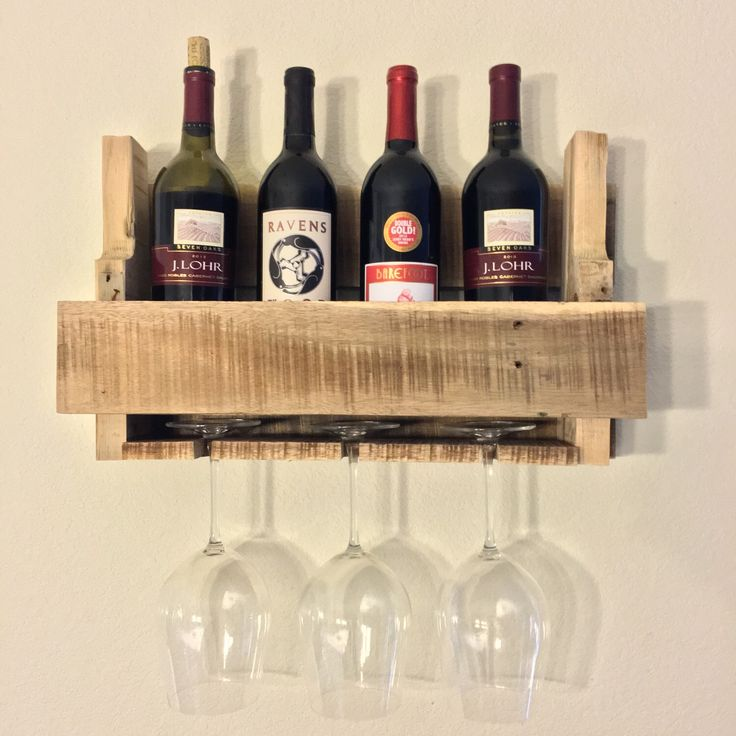 A personal favorite from my Etsy shop https://www.etsy.com/listing/254368323/wine-shelf