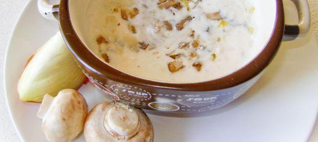 Соус сметанный с грибами ==========================  Сметанный соус с грибами к блюдам из мяса, птицы, кролика, картофеля, бобовых и макаронных изделий - рецепт и фото.