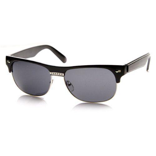zeroUV - Classic Oval Half Frame Horned Rim Horn Rimmed Sunglasses (Black) ZeroUV http://www.amazon.co.uk/dp/B00BYL4FJG/ref=cm_sw_r_pi_dp_xg00wb1H04YXG