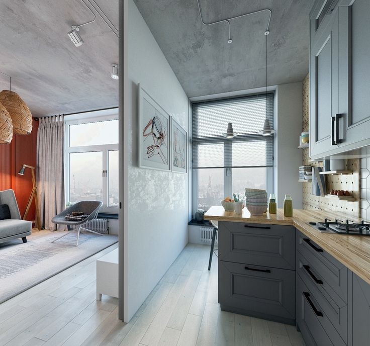 Two Takes On The Same Super Small Apartment