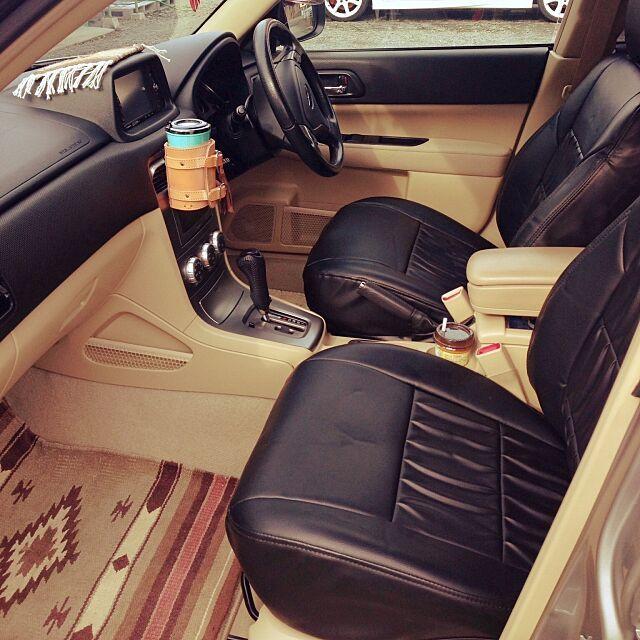 革小物 シートカバー フォレスター Forester Subaru などのインテリア実例 2016 08 02 19 42 28 Roomclip ルームクリップ カーインテリア 車のインテリアデザイン シートカバー