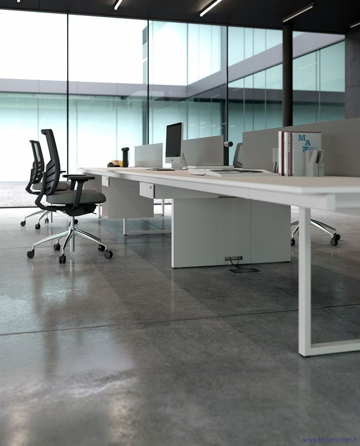 Modern Office Furniture Render