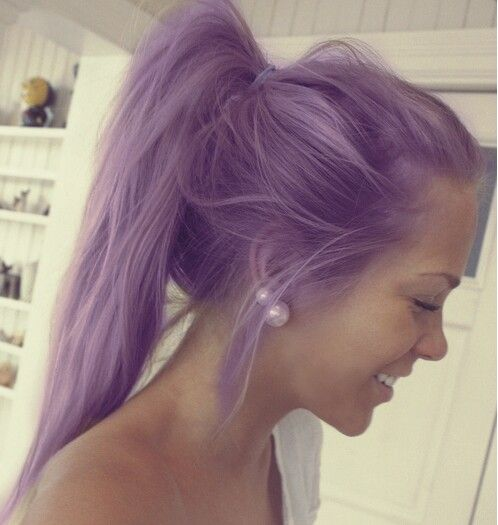 This is a really pretty shade of purple!!!! <3