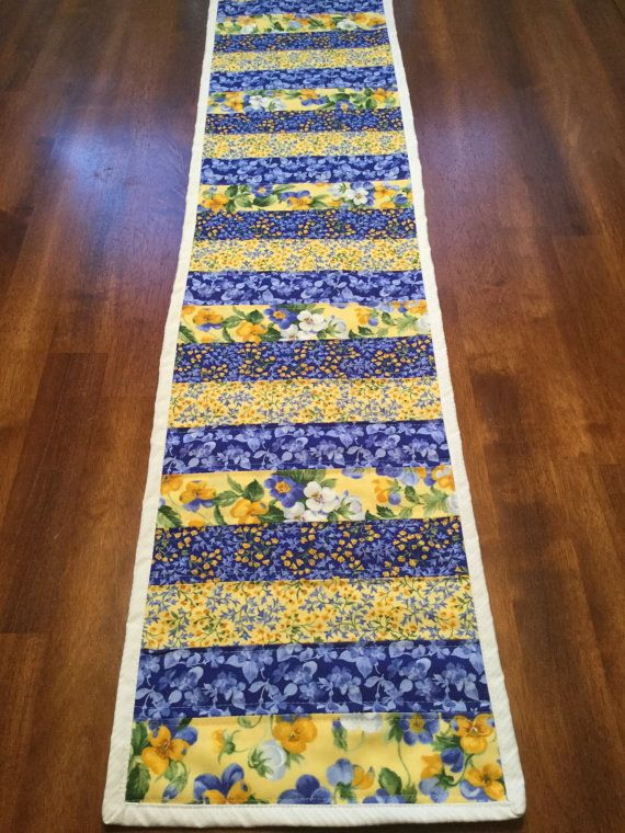 French Country Table Runner by RagsByBusyHands on Etsy