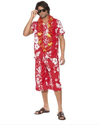Rood gekleurd Hawaii kostuum heren. Hawaii of tropisch feestje? Bij Fun en Feest vind je de leukste Hawaii party kostuums en accessoires. Toppers Crazy Summer kleding tip!