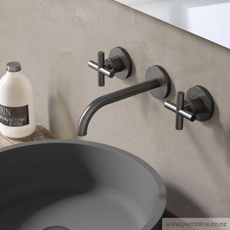 Chap Wall Mount Mixer - Bathroom Tapware - Bathroom