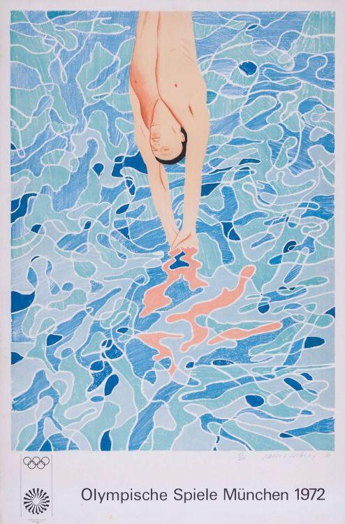 Olympische Spiele Munchen, 1970 David Hockney