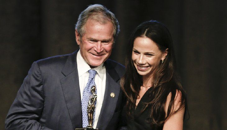 Barbara Pierce Bush, daughter of former President George W. Bush, is slated to deliver the keynote address at a Planned Parenthood fundraiser in Fort Worth, Texas, next week. (AP Photo/Frank Franklin II)