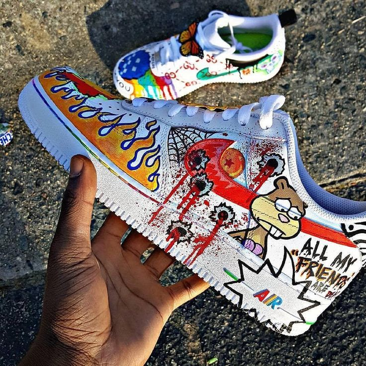 """The Spring"" Custom Nike Air Force 1 '07"