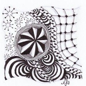 Tile met de tangles: Florz, Eke, gneiss, aahh, bunzo