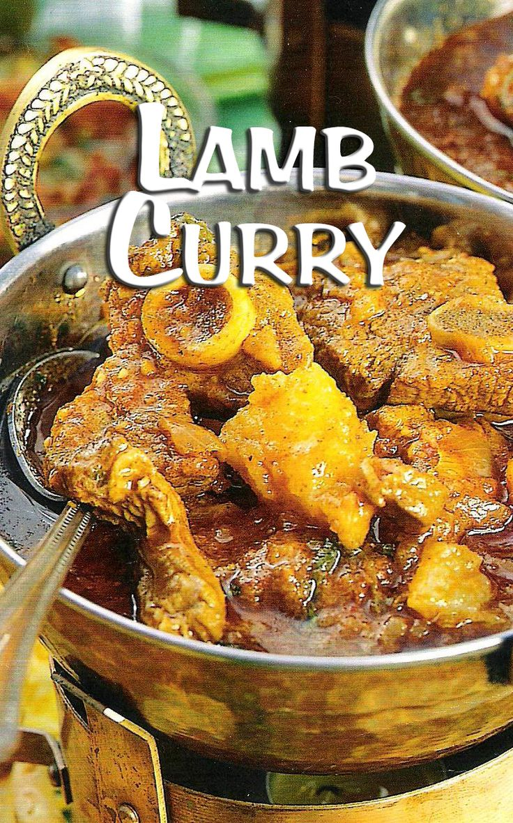 South Africa has some delicious curry recipes to offer—here is one. ♥ #SouthAfrican