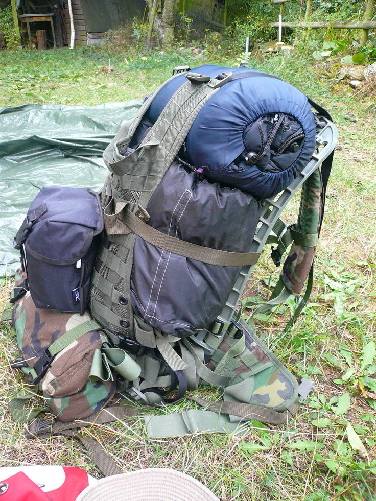 DIY MOLLE Cargo frame plus modified MOLLE Vest as cargo ...