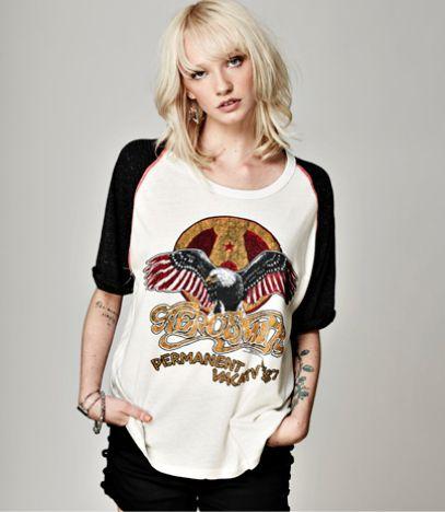 || Aerosmith Shirt || Twig & Willow || #aerosmith #aerosmithband #trunkltd…