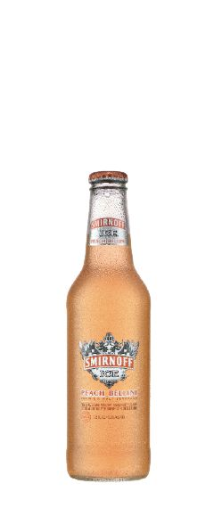 Smirnoff Ice® Peach Bellini brings the fun, flavor and convenience of malt beverages to the world of champagne, with our Sparkling Seasonal malt beverage offering Smirnoff Ice® Peach Bellini. A sophisticated blend of Peach with a hint of Raspberry, try one today!SMIRNOFF ICE® Premium Flavored Malt Beverage