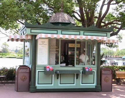 Always have to get a chocolate crepe at Crepes des Chefs de France Kiosk in the World Showcase at Epcot