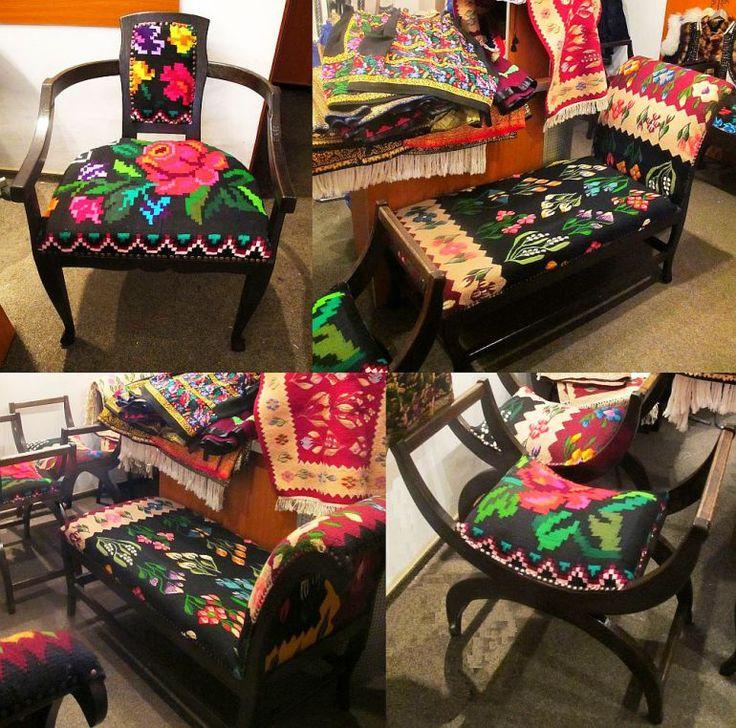 adelaparvu.com despre covoare traditionale si mobila traditionala romaneasca…