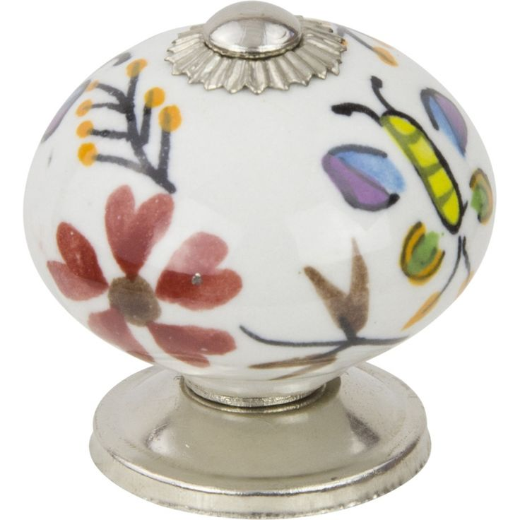 38mm Ceramic Cabinet Knob, Multicoloured $4.80, Schots