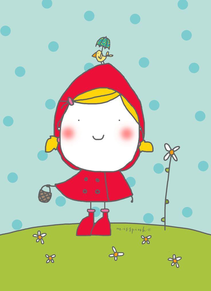 Caperucita. www.misspink.misspink.blogspot.com