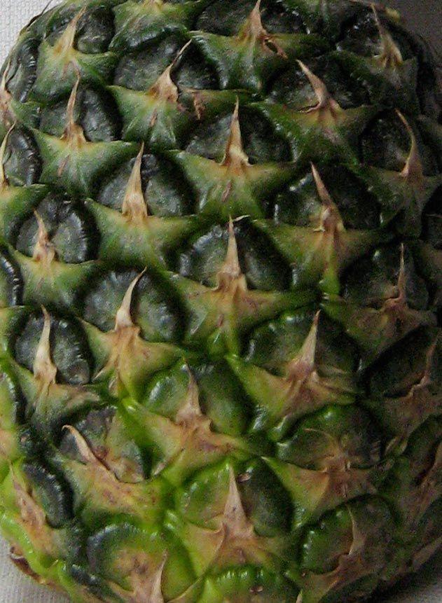 detail ananas