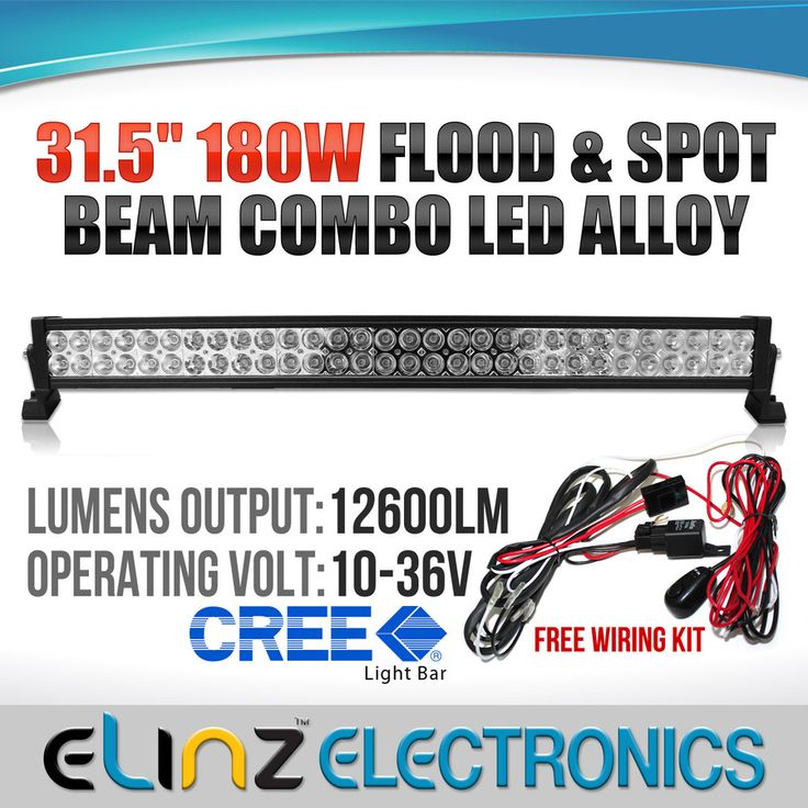 180W CREE LED light bar | Worklight |Elinz