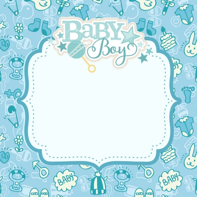 Shower Background Png Free Download Baby Boy Background Baby Shower Background Baby Boy Cards