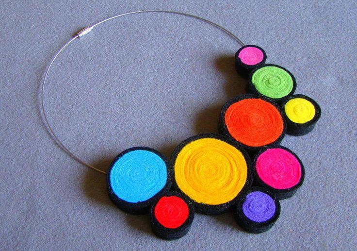 Collar collar de flores de Ifffka por DaWanda.com