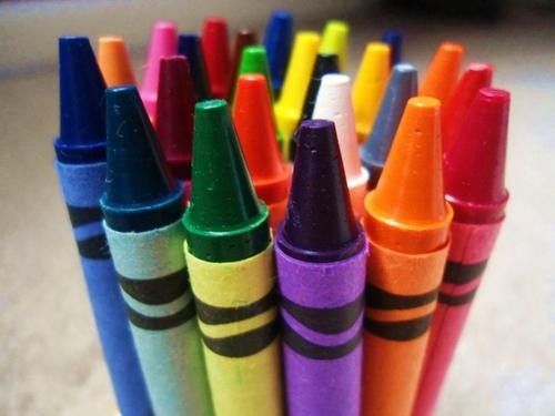 Crayons ~ Color Me A Rainbow