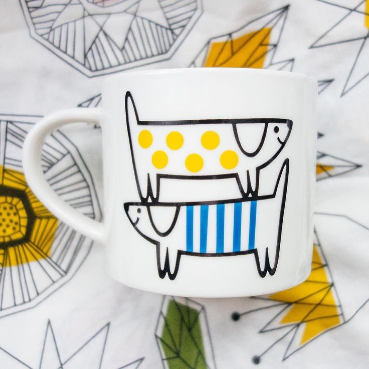 big fan of @janefosterdesigns! especially this cute dog mug