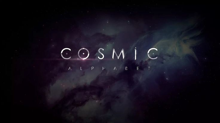 COSMIC alhabet (After Effects Project Files) on Vimeo