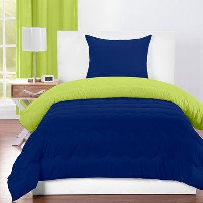 Crayola Spring Green Comforter Sets (Full/Queen), Blue Green