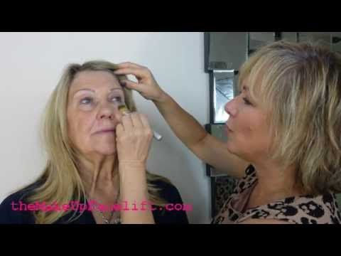 Apply makeup over 50 video mugeek vidalondon top make up tips and video tutorial for women over 60 ccuart Images