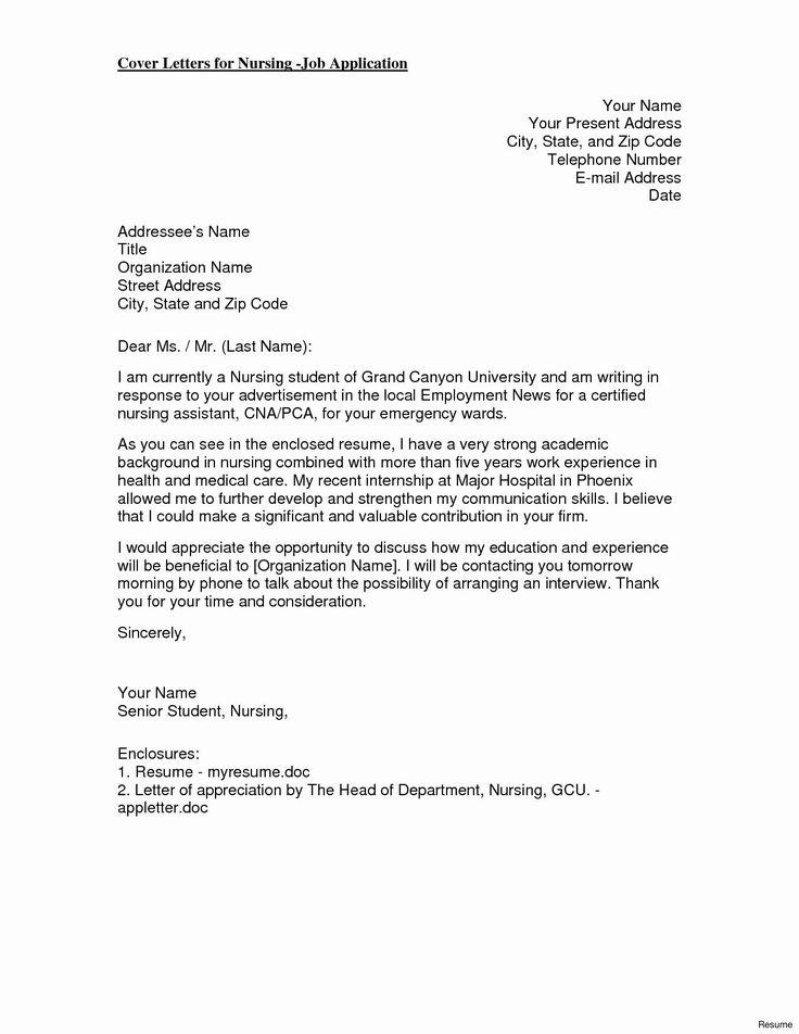 27 Recent Graduate Cover Letter Cover Letter For Resume
