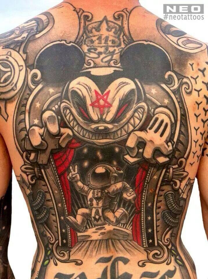 159 best images about amazing ink on pinterest demon - Wicked 3d tattoos ...
